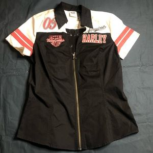 Harley Davidson womens shop shirt medium
